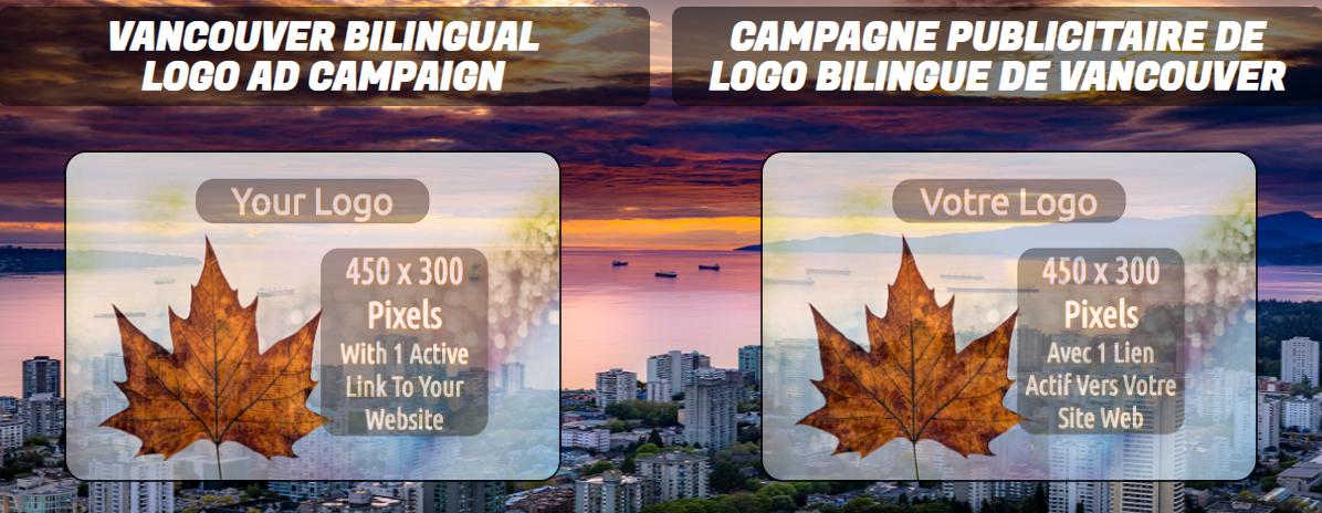 Bilingual Logo Ad Campaign